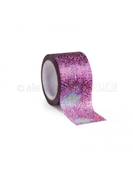 Alexandra Renke Washi Tape Oriental Stars Purple, 30mm x 10m