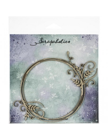Scrapaholics Embellecedores Chipboard, Vine Flourish