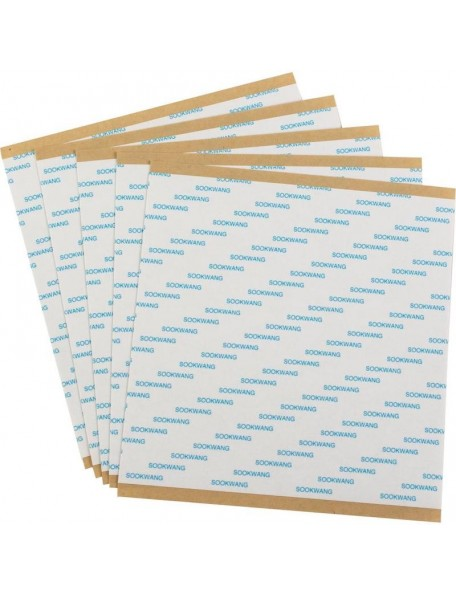 "Scor-Tape Sheets 6""X6"", 5 hojas"