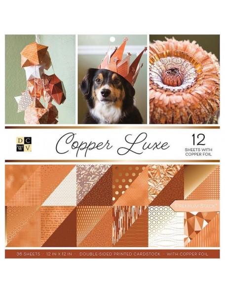 """DCWV Copper Luxe 12""""X12"""""""