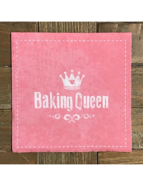 SERVILLETA Baking Queen 16,3X16,3CM