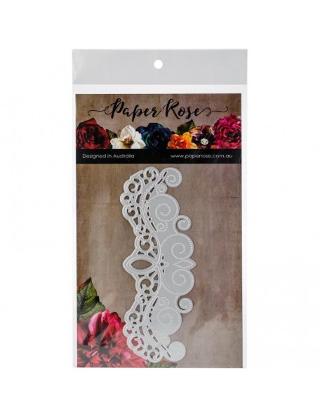 Paper Rose Troquel Ornate Border