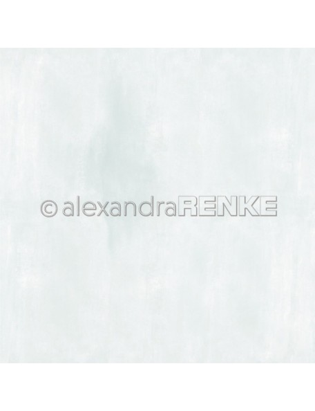 Alexandra Renke Cardstock una cara 30,5x30,5 cm, Calm Hellblau Baby Serie