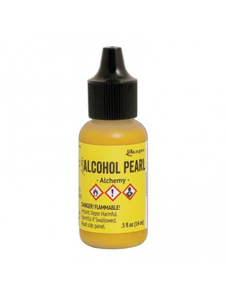 Tim Holtz Alcohol Pearls .05oz, Alchemy