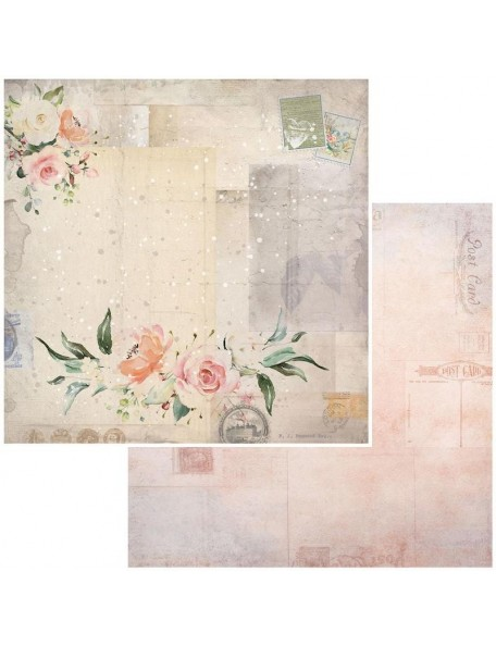 "49 and Market Bold & Beautiful Cardstock de doble cara12""X12"", Garden Letters"