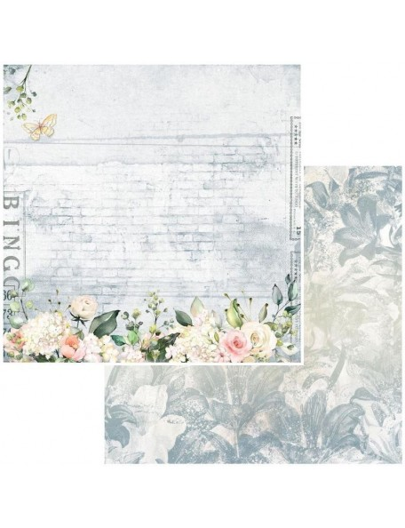 "49 and Market Bold & Beautiful Cardstock de doble cara12""X12"", Whispers"