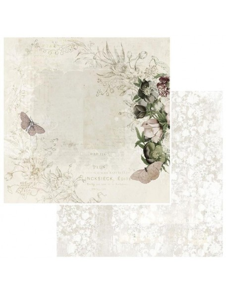 """49 and Market Bold & Beautiful Cardstock de doble cara12""""X12"""", Whispers"""