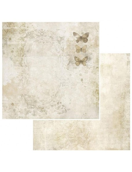 "49 and Market Vintage Artistry Natural Cardstock de doble cara12""X12"", Painted Ladies"