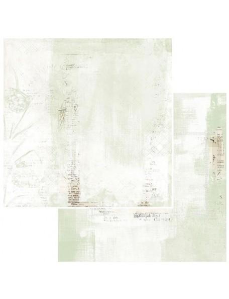 """49 and Market Vintage Artistry Sage Cardstock de doble cara12""""X12"""", Papillion"""