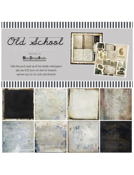 "49 And Market Pack 12""X12"" Coleccion, Old School"