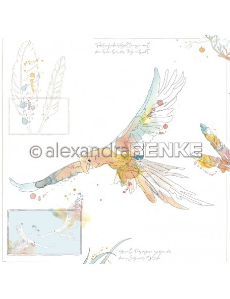 Alexandra Renke Paradies Papagei