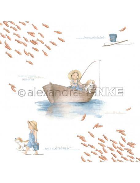 Alexandra Renke Kleiner Angler