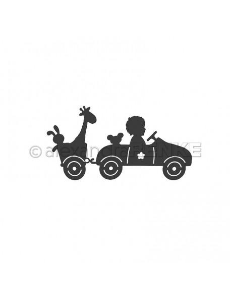 Alexandra Renke Troquel Auto mit Anhänger PREVENTA!!