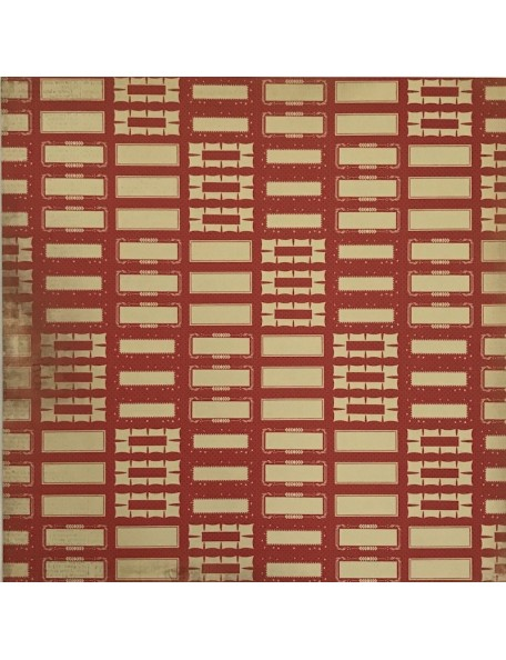 "Crockery Paper - ""In the Attic"", Kaisercraft"