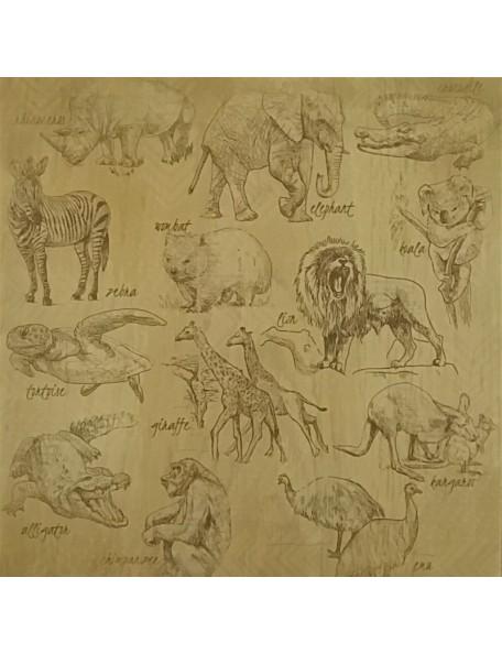 Kaisercraft Into The Wild, Animalia