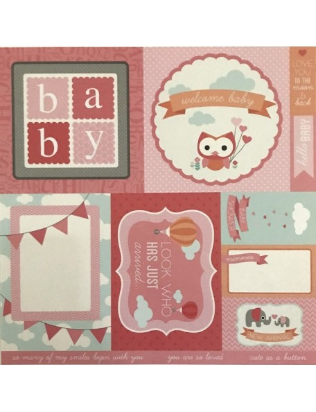"""Chloe Paper - """"Little One"""", Kaisercraft."""
