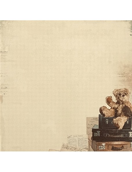 "Bear Hug Paper - ""Teddy Bear's Picnic"", Kaisercraft"
