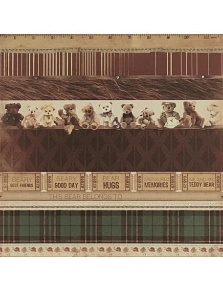 "Papel Parade - ""Teddy Bear's Picnic"", Kaisercraft"