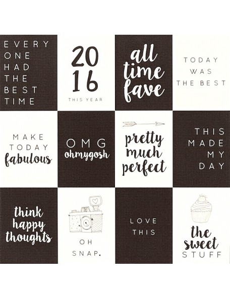 """Papel Good and Bad - """"My Year My Story"""", Kaisercraft"""