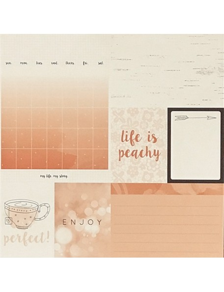 "Peachy Paper - ""My Year, My Story"", Kaisercraft"
