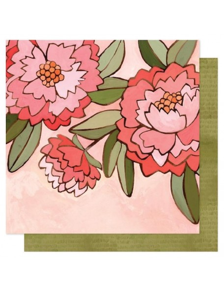 """Papel Pink Peony - """"Saturday Afternoon"""", One Canoe Two"""