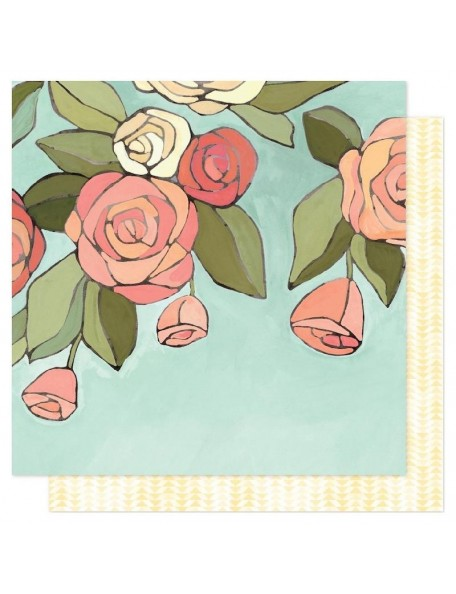 """Papel Afternoon Roses - """"Saturday Afternoon"""", One Canoe Two"""