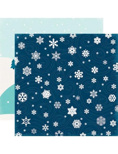 Echo Park Hello Winter, Frigid Blizzard