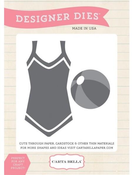 Carta Bella Beach Wear Troquel