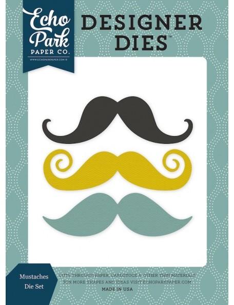Echo Park Moustache Troqueles