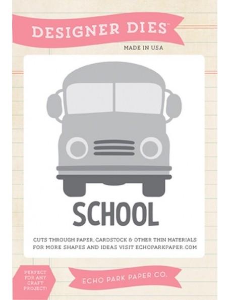 Echo Park School Bus Die Set