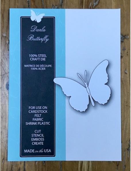 Memory Box Darla Butterfly, Troquel