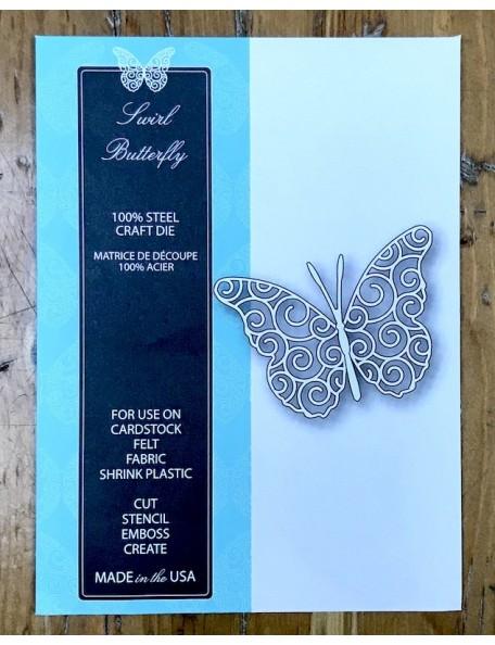 Memory Box Swirl Butterfly, Troquel