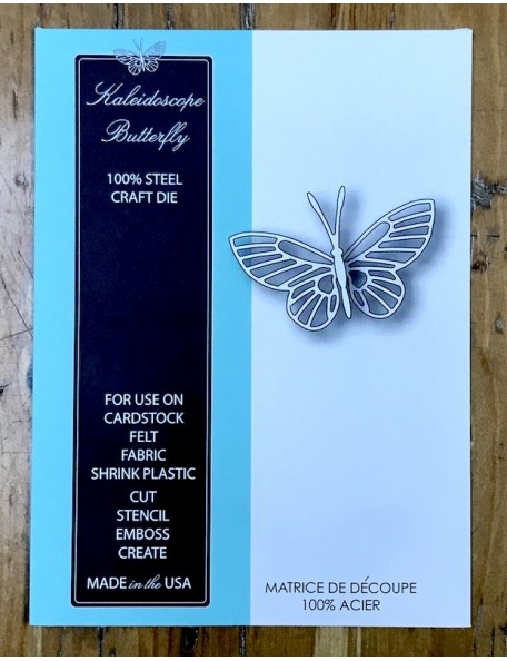 Memory Box Kaleidoscope Butterfly, Troquel