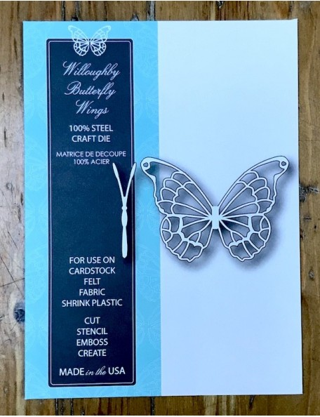 Memory Box Willoughby Butterfly Wings, Troquel