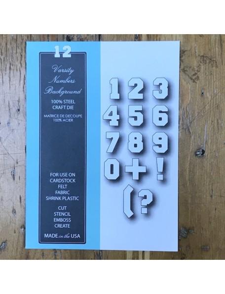 Memory Box Troquel Abecedario Estilo-98861