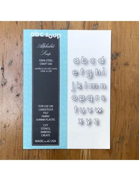 Memory Box Troquel Alphabet Soup Style 98795