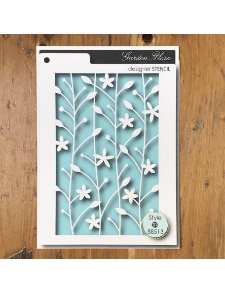 Memory Box Plantilla Flora Style 88513