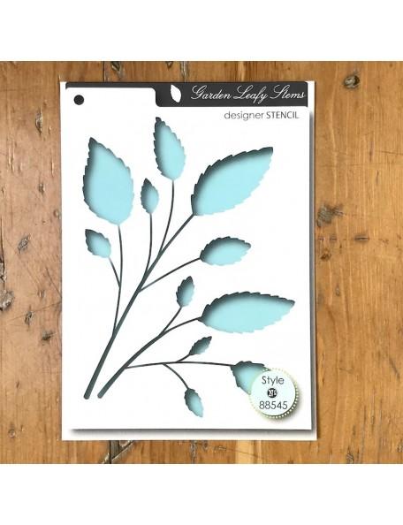 Memory Box Plantillas Leafy Stems Style 88545