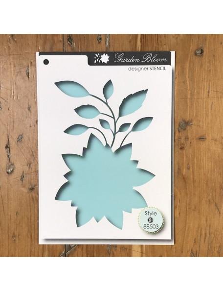 Memory Box Plantilla Bloom Style 88503