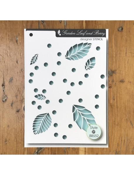 Memory Box Plantilla Leaf & Berry Style 88552