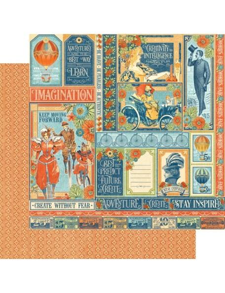 Graphic 45 World's Fair, Wonder Works