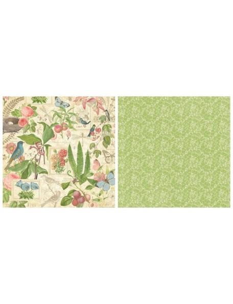 Graphic 45 Botanical Tea, Spring Duet