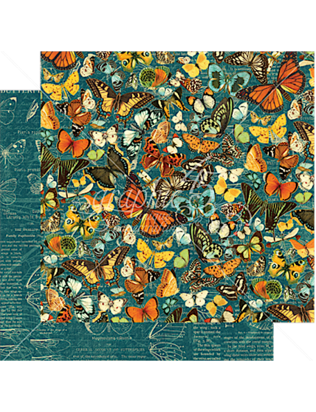 Graphic 45 Nature Sketchbook, Monarch Majesty