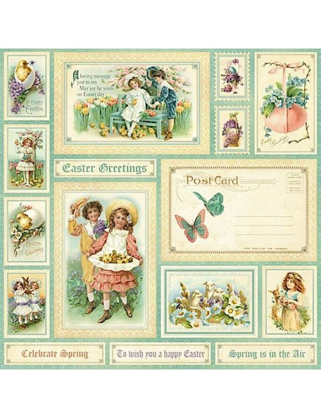 Graphic 45 Sweet Sentiments, Easter Greetings