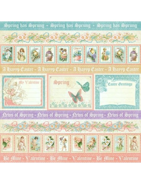 Graphic 45 Sweet Sentiments, Spring Has Sprung