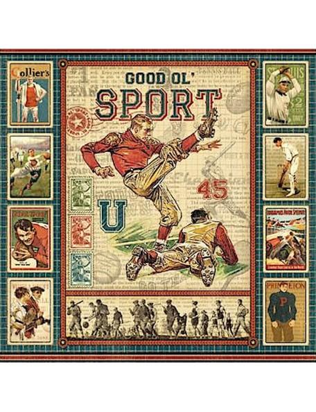 Graphic 45 Good Ol' Sport, Good Ol' Sport