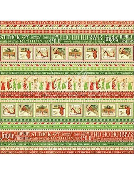 Graphic 45 Twas the Night before Christmas, Ho Ho Ho