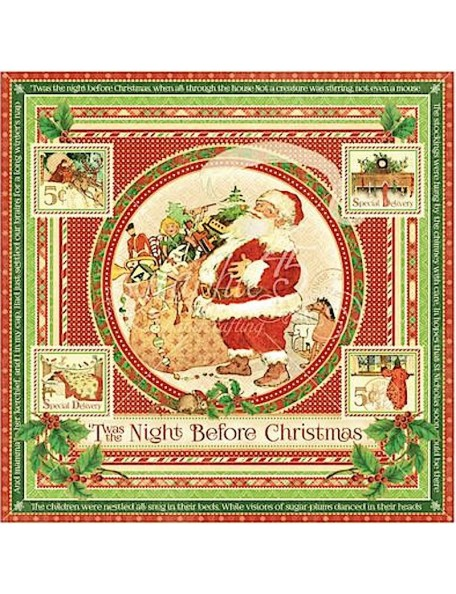 Graphic 45 Twas the Night before Christmas, Twas the Night before Christmas