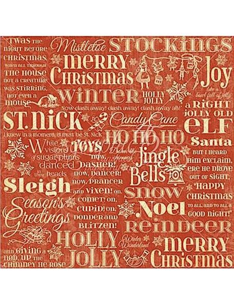 Graphic 45 Twas the Night before Christmas, Merry Mistletoe