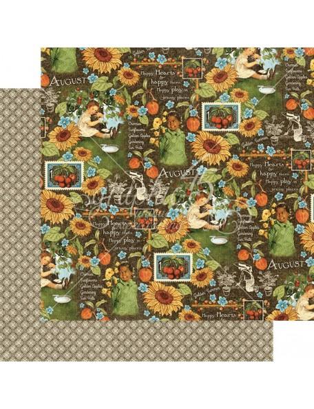 Graphic 45 Children's Hour, August Montage